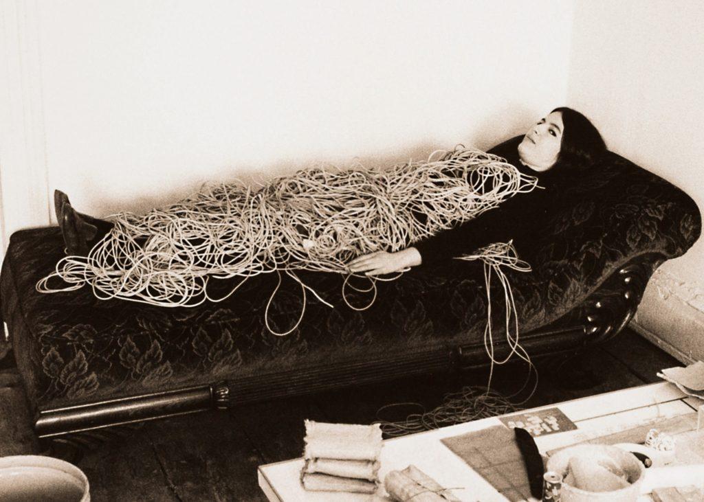 Eva Hesse in 1968. Photo by Herman Landshoff. Eva Hesse. A film
